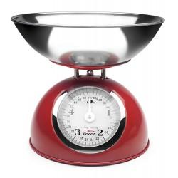 Báscula Cocina Retro Lacor Red 61718