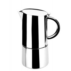 Cafetera inox Moka Lacor 62056